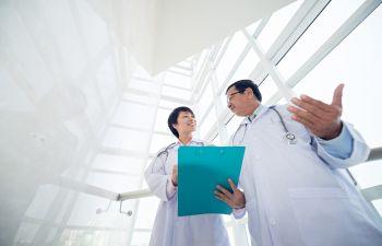 Doctors Reviewing Labwork